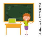 back to school | Shutterstock .eps vector #1269437938