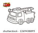 kids coloring book  cartoon...   Shutterstock .eps vector #1269438895
