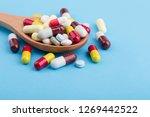 assorted pharmaceutical... | Shutterstock . vector #1269442522