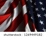 flag usa background | Shutterstock . vector #1269449182