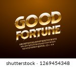 vector stylish sign with text... | Shutterstock .eps vector #1269454348