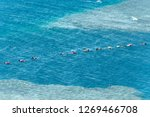 blue hole is a popular diving... | Shutterstock . vector #1269466708