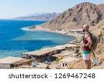 dahab egypt   10 15 2018  blue... | Shutterstock . vector #1269467248