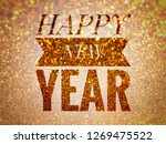 happy new year  greeting card | Shutterstock . vector #1269475522