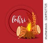 illustration of punjabi... | Shutterstock .eps vector #1269527725