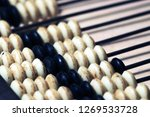 vintage abacus for mathematic... | Shutterstock . vector #1269533728