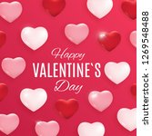 valentine's day love and... | Shutterstock .eps vector #1269548488
