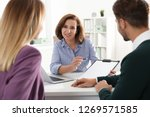 real estate agent consulting... | Shutterstock . vector #1269571585