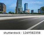 empty road in shanghai town... | Shutterstock . vector #1269582358