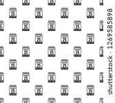 calendar twenty fifth of... | Shutterstock . vector #1269585898
