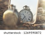 surreal image of an antique... | Shutterstock . vector #1269590872