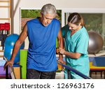 senior man doing running... | Shutterstock . vector #126963176
