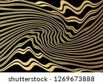 gold luxurious line pattern... | Shutterstock .eps vector #1269673888