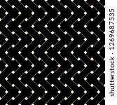 braided seamless  basket weave... | Shutterstock .eps vector #1269687535