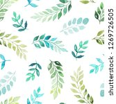 seamless pattern with...   Shutterstock . vector #1269726505