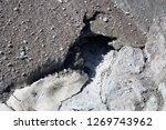 the corbassiere glacier is a...   Shutterstock . vector #1269743962