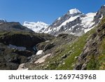 the grand combin is a mountain...   Shutterstock . vector #1269743968