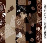 seamless background pattern.... | Shutterstock .eps vector #126975002