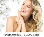 portrait of attractive ... | Shutterstock . vector #126976286