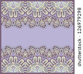 ornamental seamless pattern.... | Shutterstock .eps vector #126979298
