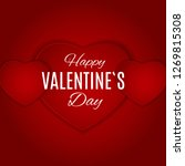 valentine's day love and...   Shutterstock .eps vector #1269815308