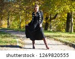 full body  young beautiful... | Shutterstock . vector #1269820555