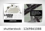 printing magazine  brochure...   Shutterstock .eps vector #1269861088