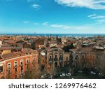 Panasonic view of Catania, Sicily, Italy
