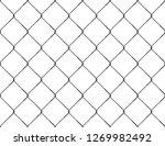 realistic fence rabitz pattern. ...   Shutterstock .eps vector #1269982492