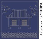 korean traditional object line... | Shutterstock .eps vector #1270000048