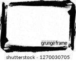 grunge frame   abstract texture ...   Shutterstock .eps vector #1270030705