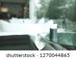 coffee shop   modern cafe... | Shutterstock . vector #1270044865