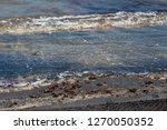 dark mineral ilmenite... | Shutterstock . vector #1270050352