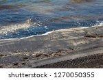 dark mineral ilmenite... | Shutterstock . vector #1270050355
