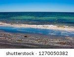 dark mineral ilmenite... | Shutterstock . vector #1270050382