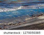 dark mineral ilmenite... | Shutterstock . vector #1270050385