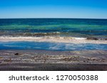 dark mineral ilmenite... | Shutterstock . vector #1270050388