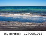 dark mineral ilmenite... | Shutterstock . vector #1270051018