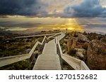 sunrise mount wellington ... | Shutterstock . vector #1270152682