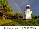 rainbow at fingal  new south... | Shutterstock . vector #1270156225