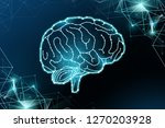 the creation of ai  group of... | Shutterstock .eps vector #1270203928