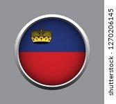 button flag of liechtenstein | Shutterstock .eps vector #1270206145