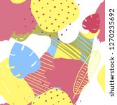 vector abstract tropical... | Shutterstock .eps vector #1270235692