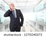 young businessman with strong...   Shutterstock . vector #1270240372