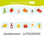 matching children educational... | Shutterstock .eps vector #1270256932