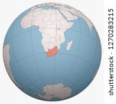 south africa on the globe.... | Shutterstock .eps vector #1270283215