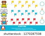 educational children game.... | Shutterstock .eps vector #1270287538