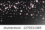 nice sakura blossom isolated... | Shutterstock .eps vector #1270311385