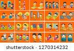 cute vector illustration of... | Shutterstock .eps vector #1270314232