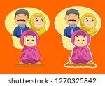 cute vector illustration of...   Shutterstock .eps vector #1270325842
